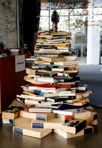 arbre de noel en livre (Opti)