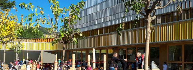 Nouvelle maternelle à Barcelone