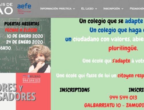 Politique des langues au lycée français de Bilbao
