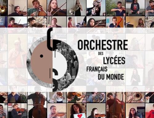 L'orchestre des LF du monde, à distance